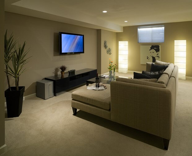 Basement flooring options over concrete best flooring for Good carpet for basement floors