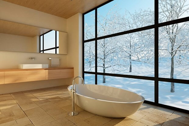 Charmant How To Warm Up A Cold Bathroom