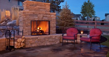 Backyard Fireplace Ideas To Warm Up · Concrete ...