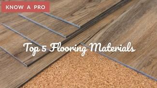 Video: Top 5 Flooring Materials