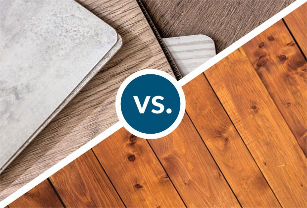 Laminate Flooring Vs Hardwood Flooring Improvenet