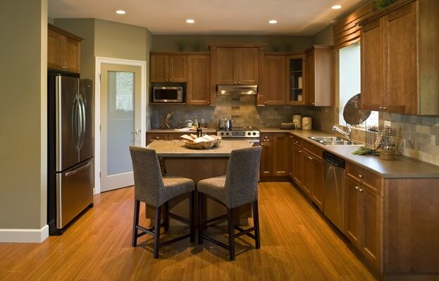When Selecting Kitchen Flooring, It Is Important To Choose Something That  Is Both Beautiful And Strong. Kitchen Flooring Can Accent The Counters,  Cabinets, ...