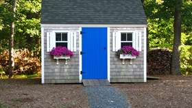 Make Your Shed A Backyard Focal Point