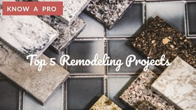 Video: Top 5 Remodeling Projects
