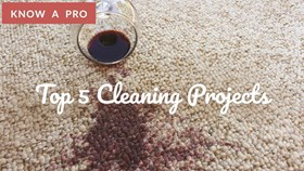 Video: Top 5 Cleaning Projects