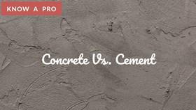 Video: Concrete Slab Vs. Cement Slab
