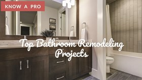 Video: Top Bathroom Remodeling Projects