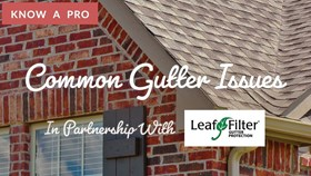 Video: Common Gutter Problems