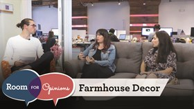 Video: Farmhouse Style – Room For Opinions