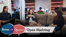 Video – Room For Opinions: Open Shelving
