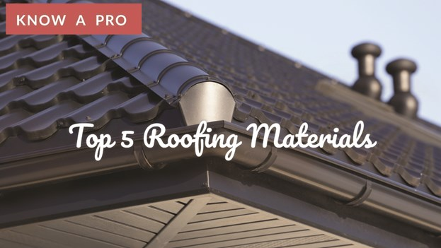 Video Top 5 Roofing Materials Roof Installation