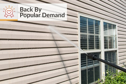 Garages Near Me >> DIY Tips for Power Washing House Siding | How to Power ...