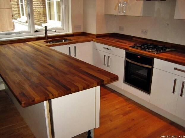 High Quality Wood And Butcher Block Countertop