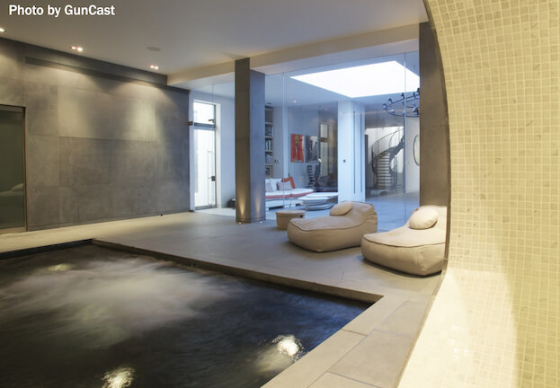 13 basement designs you should copy basement remodel for Basement swimming pool ideas