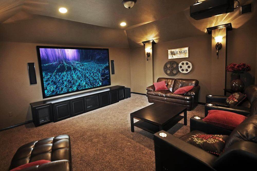 Cost To Install Home Theater : estimate to finish a basement  - Aeropaca.Org
