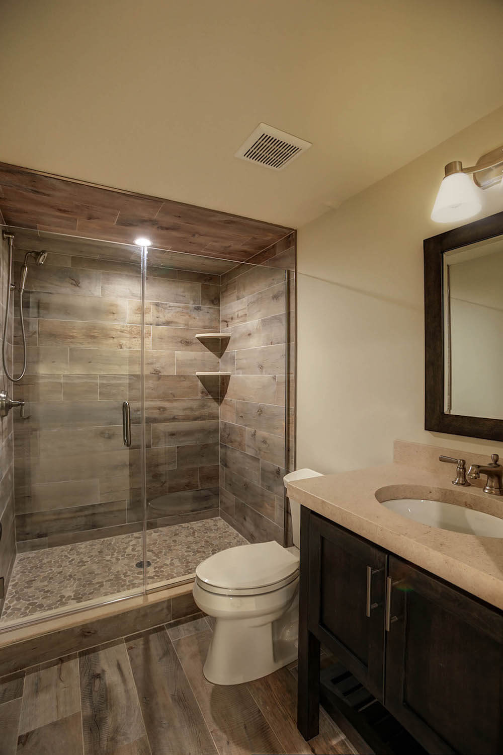 2019 basement remodeling costs basement finishing cost - How much it cost to build a bathroom ...