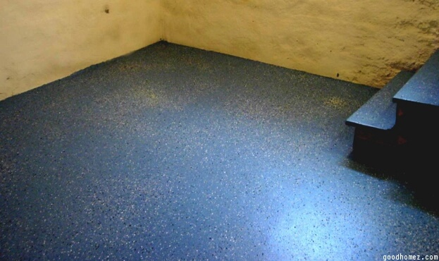 Speckled Basement Floor & How To Paint A Basement Floor | DIY Painting