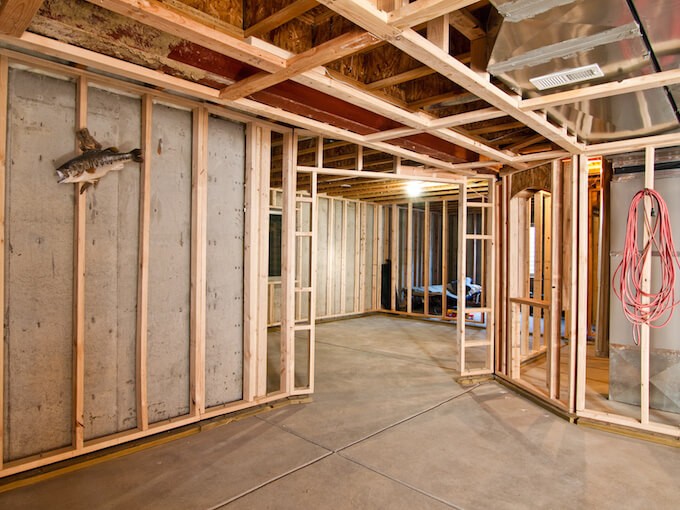 Types of Wood for Basement Framing & 2018 Basement Framing Cost | How To Frame A Basement Wall