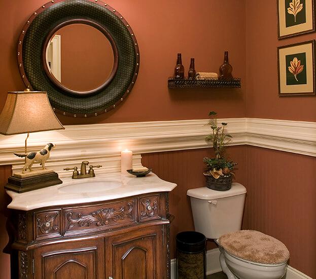 Fall Bathroom Wall Art