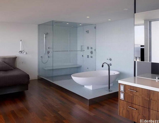 6 Bathroom Floor Trends That Really, Can You Use Bamboo Flooring In A Bathroom