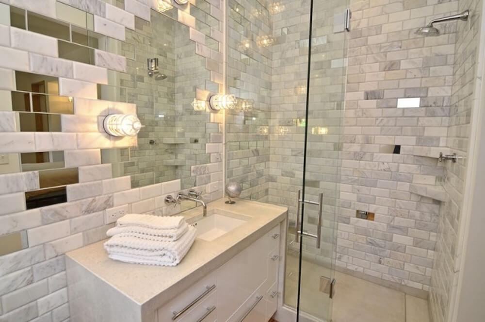 Hot Bathroom Tile Trends