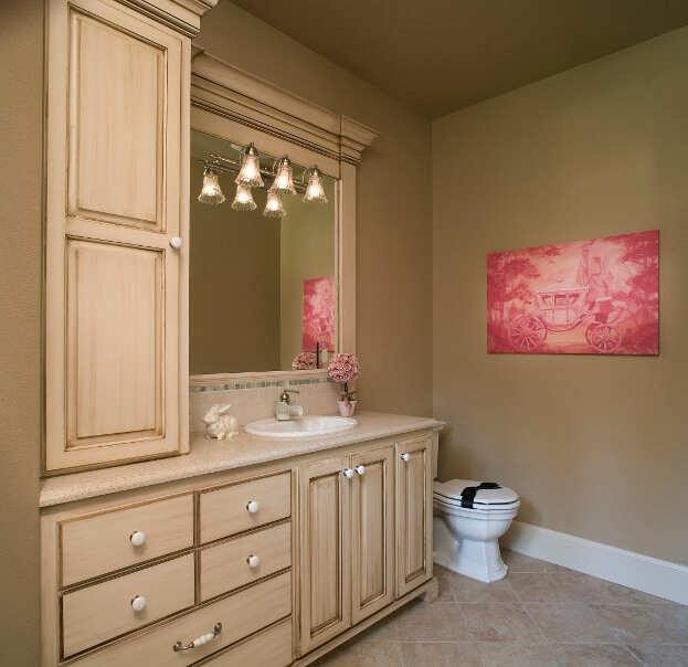 neutral and bright bathroom - Best Paint For Bathroom