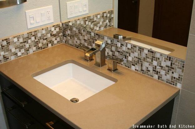 2016 Bathroom Countertop Trends