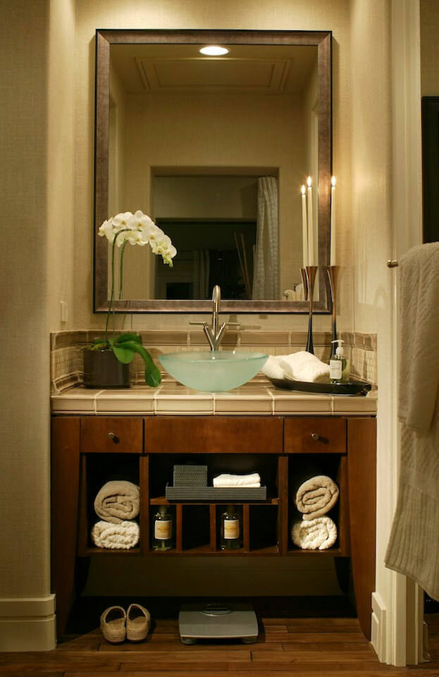 Good Small Bathroom: Vanity