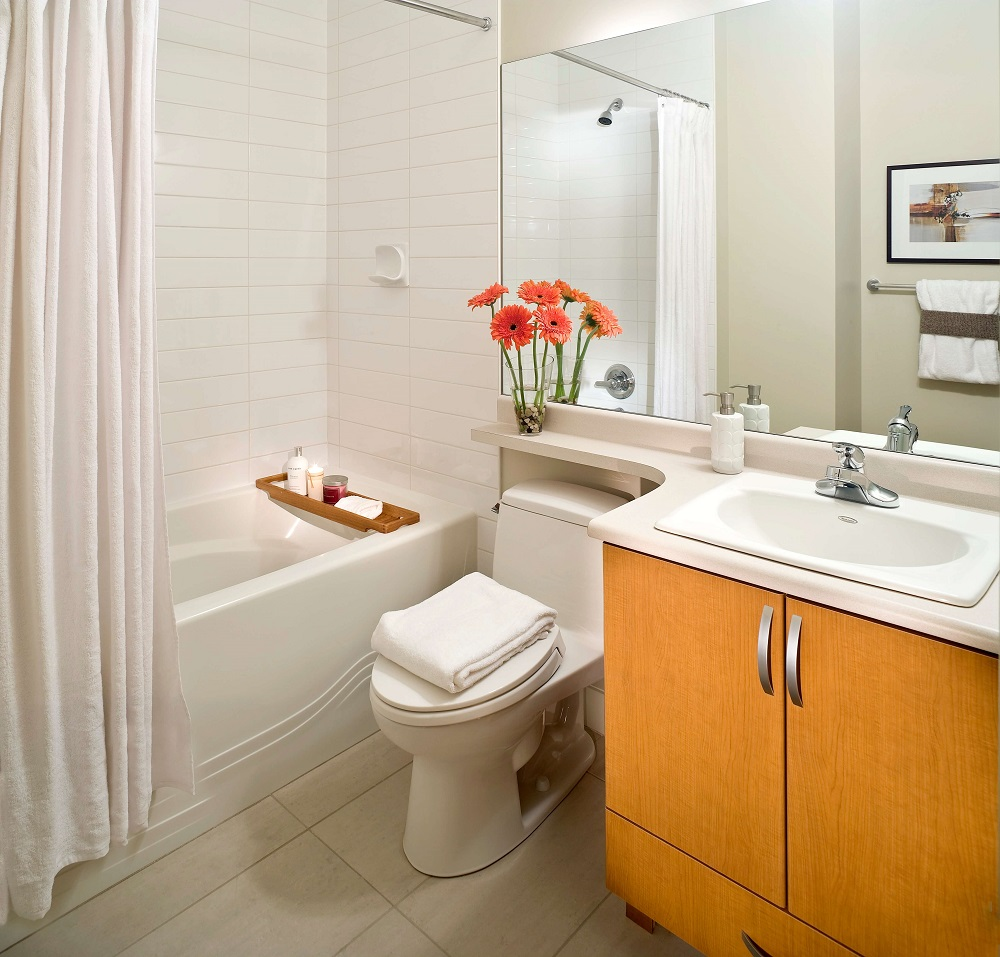 7 awesome layouts that will make your small bathroom more usable rh improvenet com