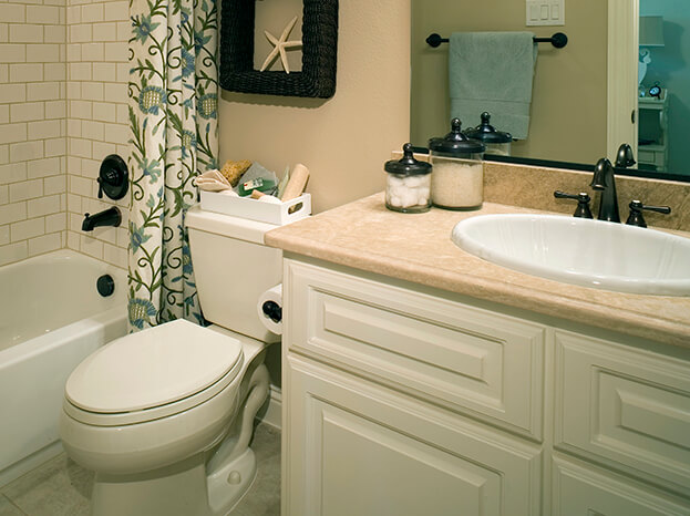 10 affordable ideas that will turn your small bathroom for Spa like bathroom decor