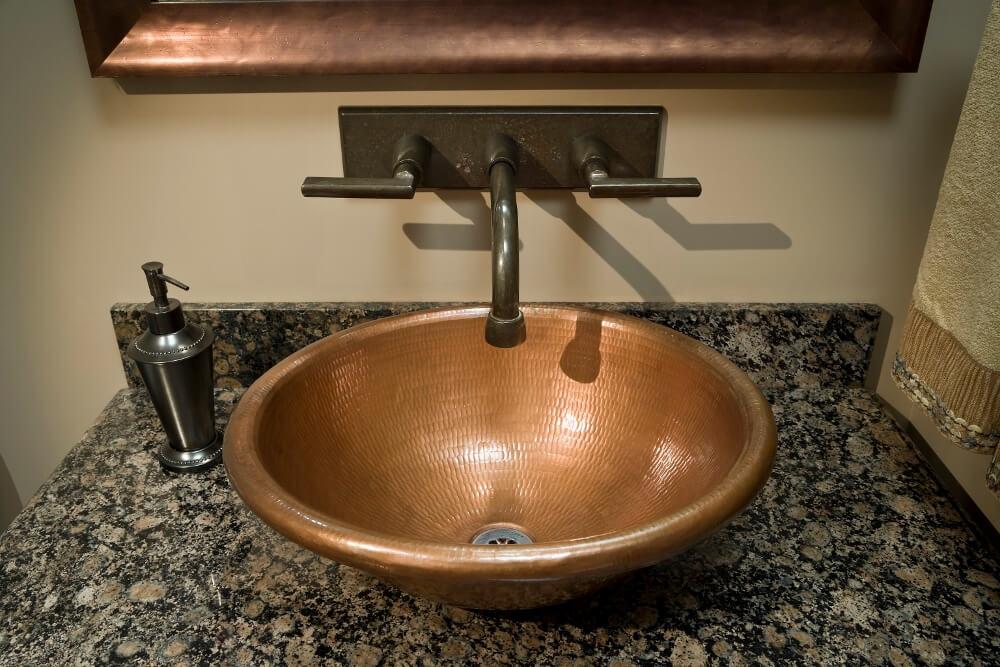 Vessel Sink Luxury Bathroom