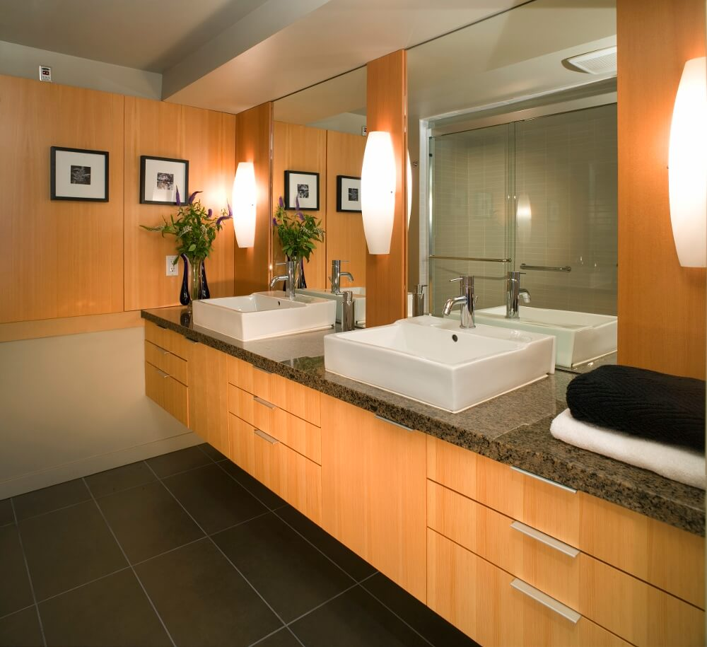 Small Windowless Bathroom Ideas With No Window Basement Wiring Diagram Before Installing The Vanity Light
