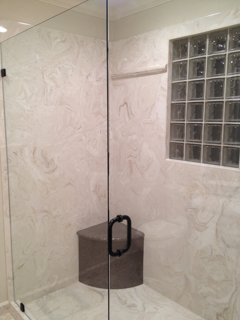 2018 Cultured Marble Shower Walls Cost | Marble Shower Price