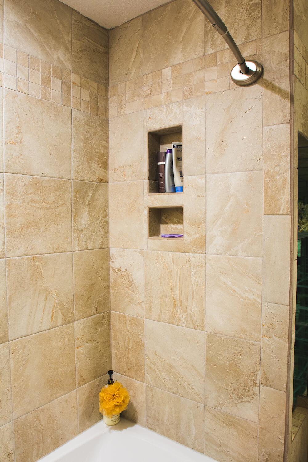 2018 cost to tile a shower how much to tile a shower advantages of tile showers dailygadgetfo Gallery