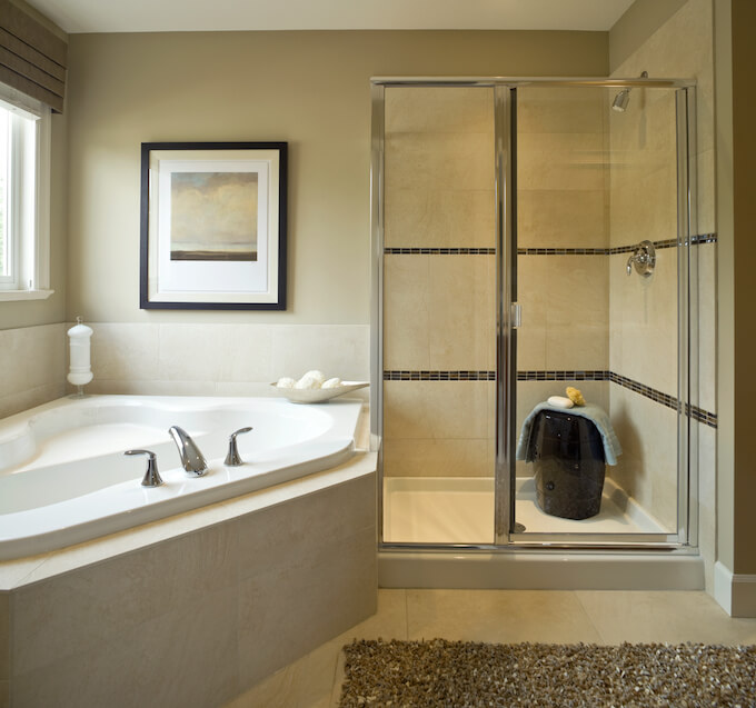 Glass Shower Door Installation Cost & 2018 Shower Door Installation Cost | Replace Shower Door