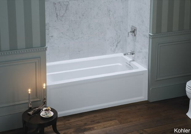 Deep bathtubs for small bathrooms soaking tubs for small for Narrow deep soaking tub