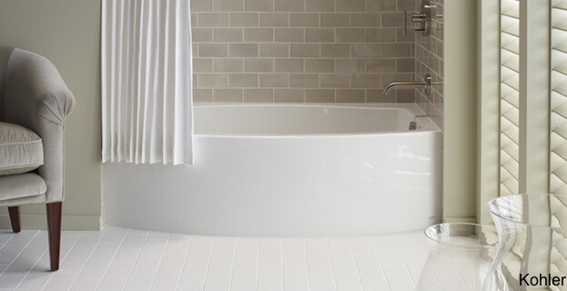 Deep Tubs For Small Bathrooms. Kohler Expanse