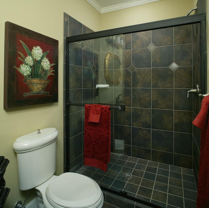 Retile Bathroom Kemistorbitalshowco - How much to install a new bathroom