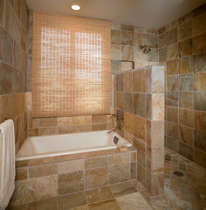 Exceptional Shower Retiling
