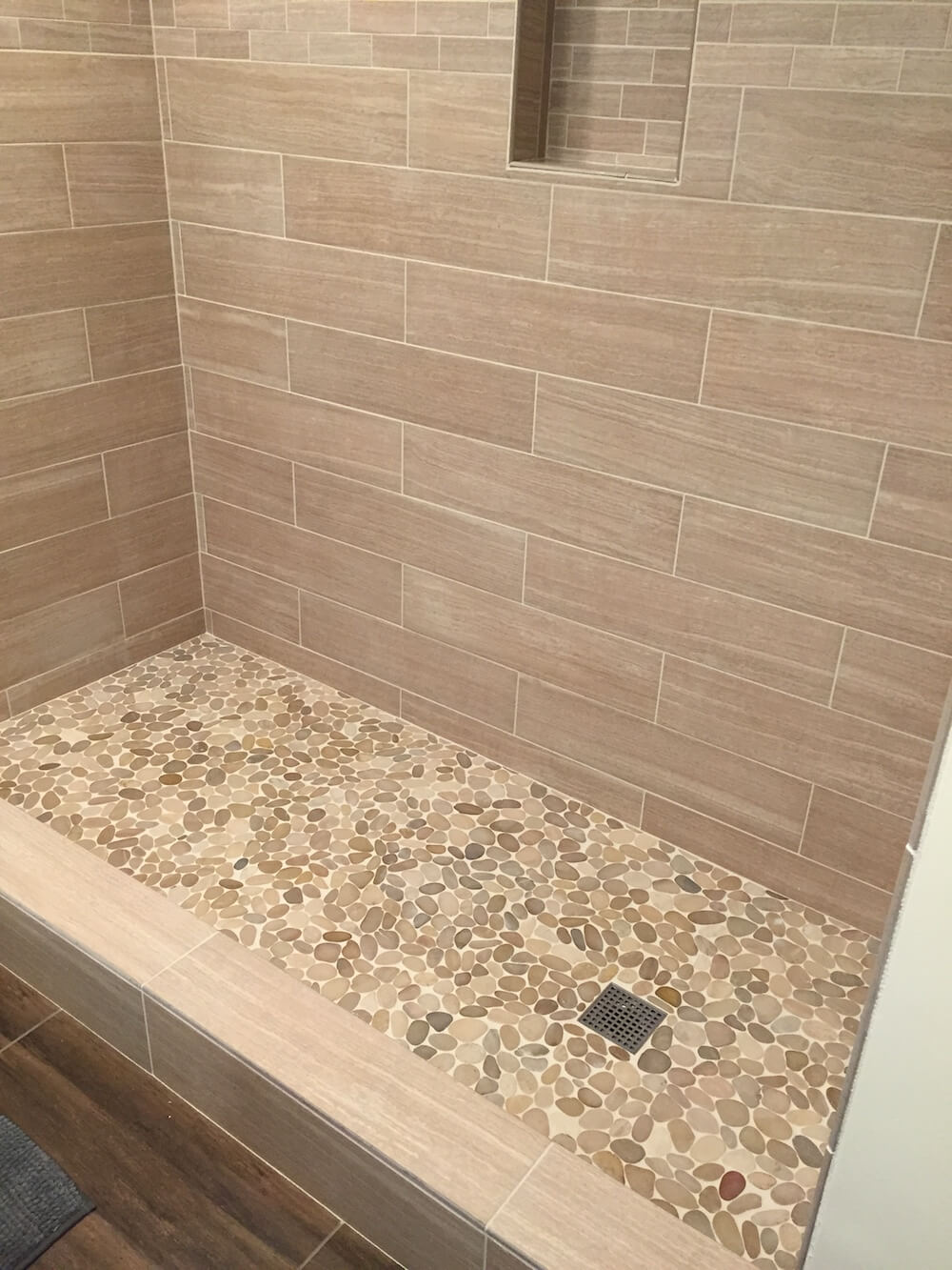 2018 cost to tile a shower how much to tile a shower showing tiling cost factors dailygadgetfo Gallery