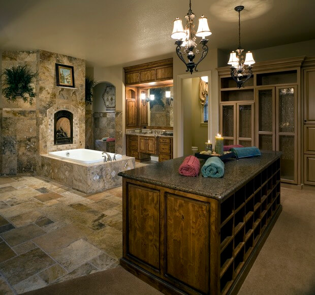 All Inclusive Master Bathroom