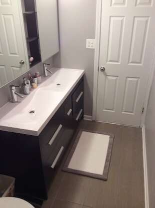 My small bathroom remodel recap costs designs more - Small bathroom remodel with tub ...