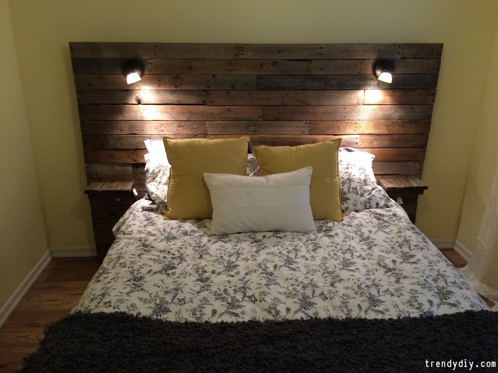 DIY Headboard Ideas | DIY Headboard | DIY Wood Headboard