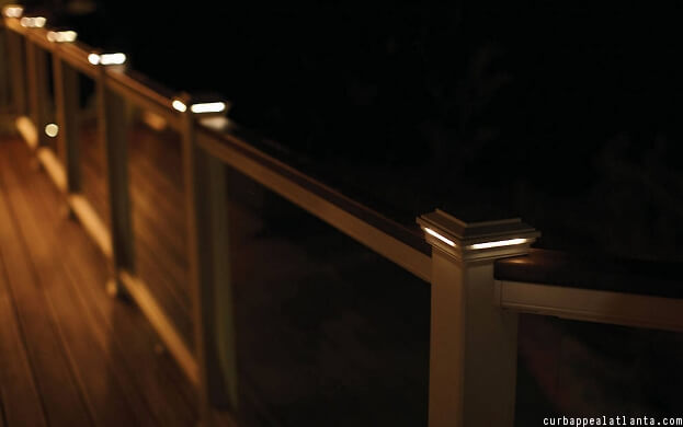 deck lighting ideas pictures. post cap lights deck lighting ideas pictures