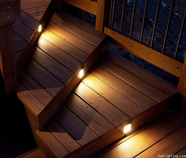 Deck lighting ideas outdoor lighting solar lights stair lighting aloadofball Image collections