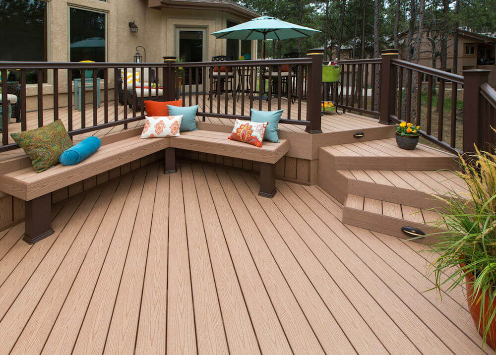 2018 timbertech pricing timbertech decking prices for Colors of composite decking