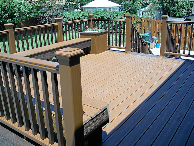 2018 trex decking prices average trex deck cost per for How much does composite decking weigh
