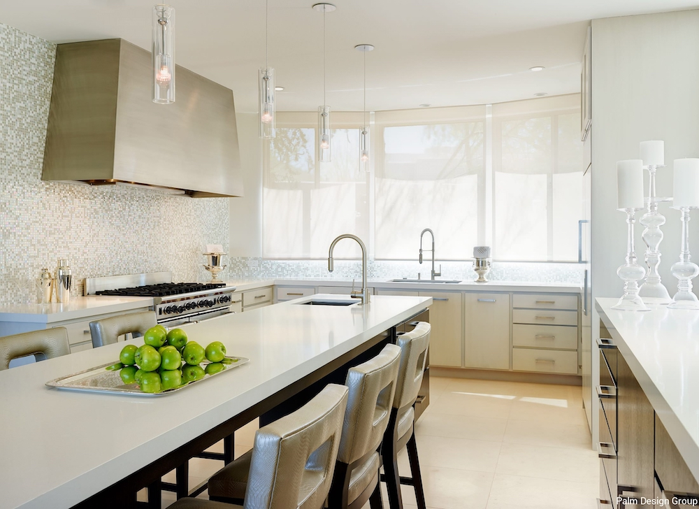 Metallic Accents in the Kitchen