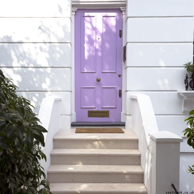 Pastel Purple Door