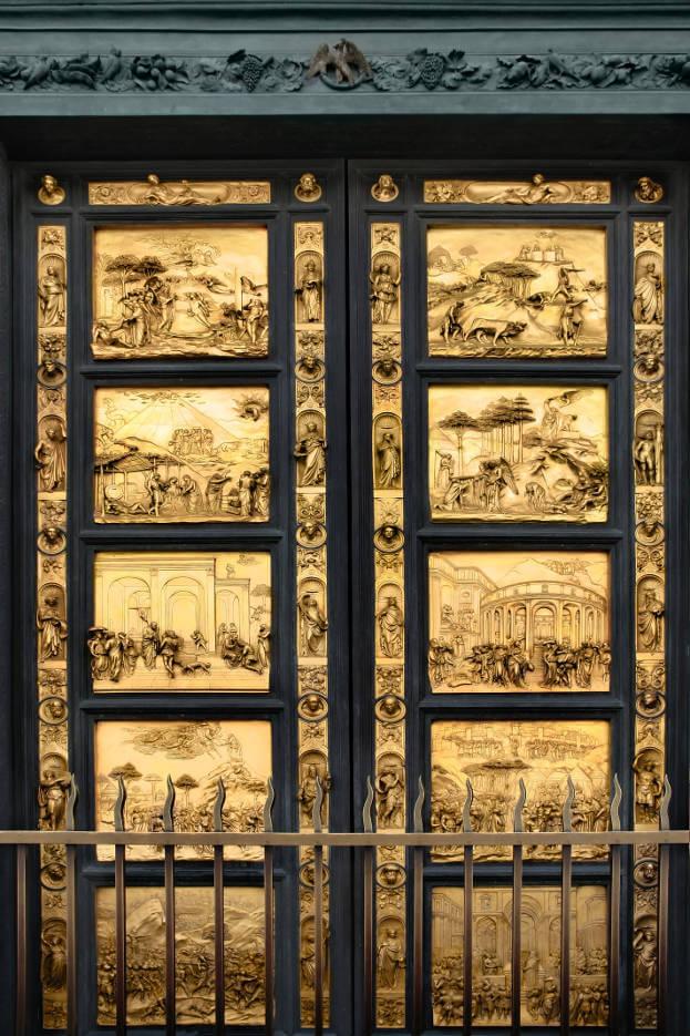 Florance Baptistery Doors & 10 World Famous Doors | Famous Door